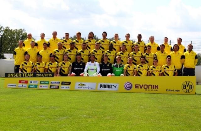 Dortmund Mannschaft